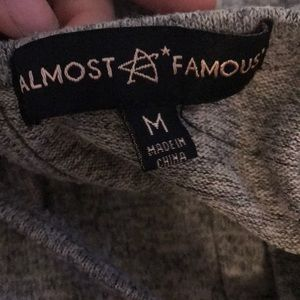 Almost Famous Tops - Long sleeve